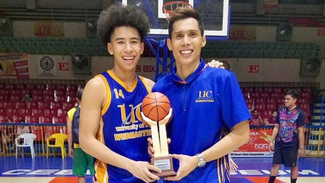 Hontiveros son Isaiah Blanco cherishes Cesafi juniors title with dad watching